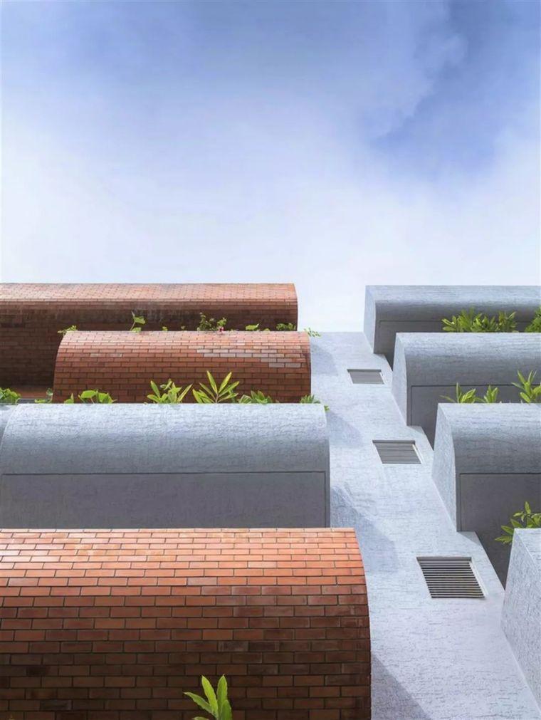 """多层住宅建筑设计:印度""""森林""""公寓/案例_17"""