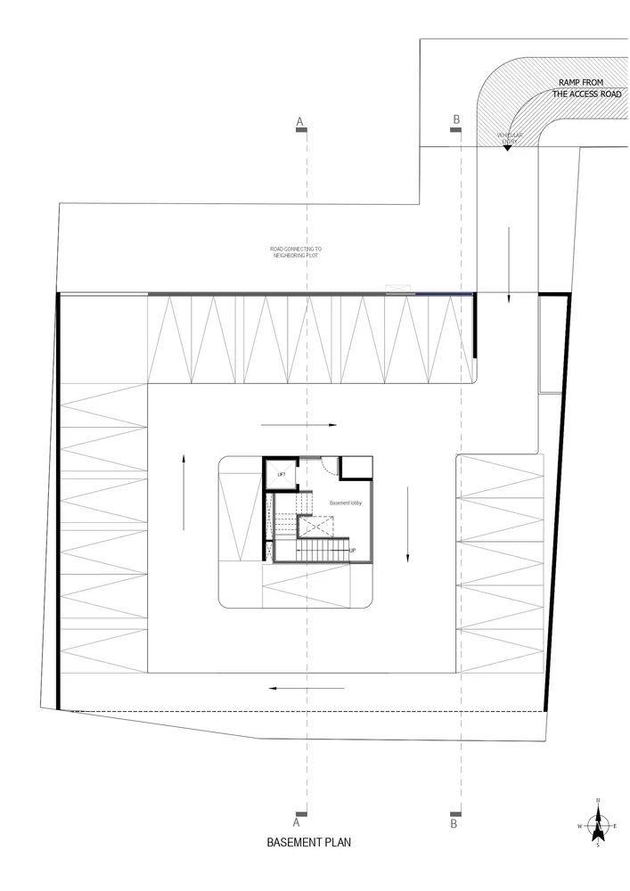"""多层住宅建筑设计:印度""""森林""""公寓/案例_20"""