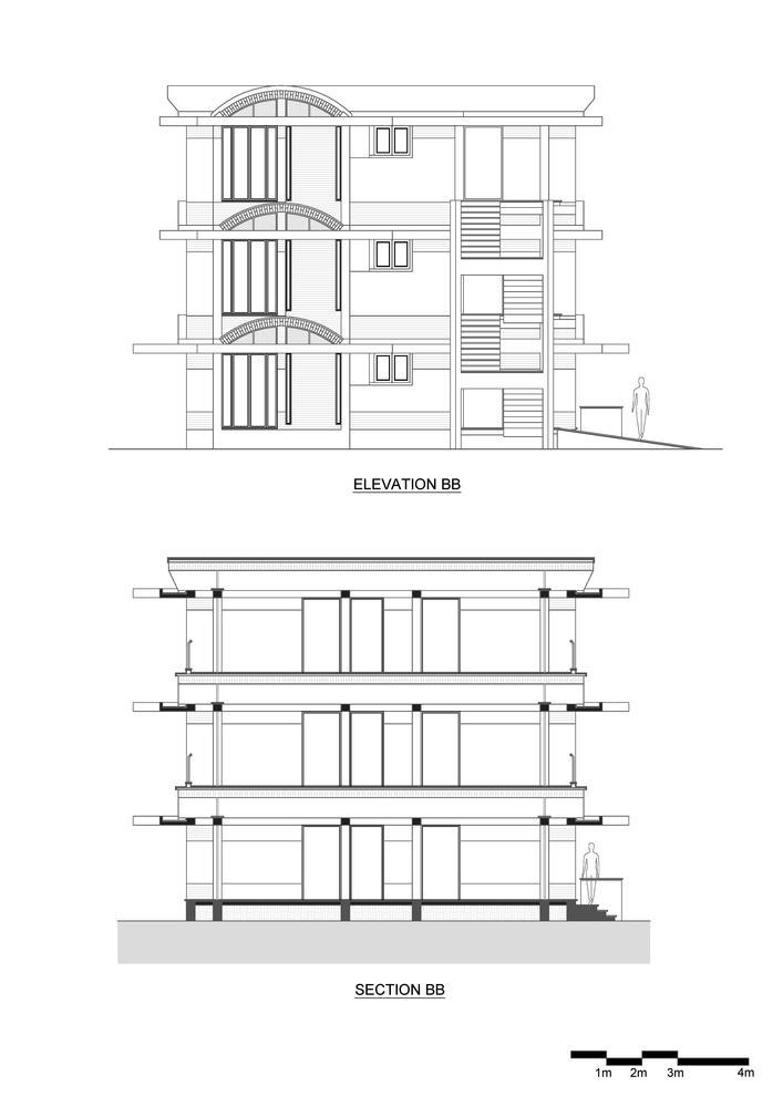 印度'人文景观'公寓-5-Humanscapes-ELEV-SEC-B