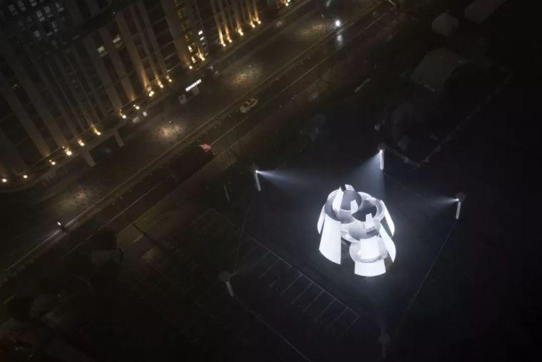 市政景观建筑装置设计:南京时间塔/钢结构_1