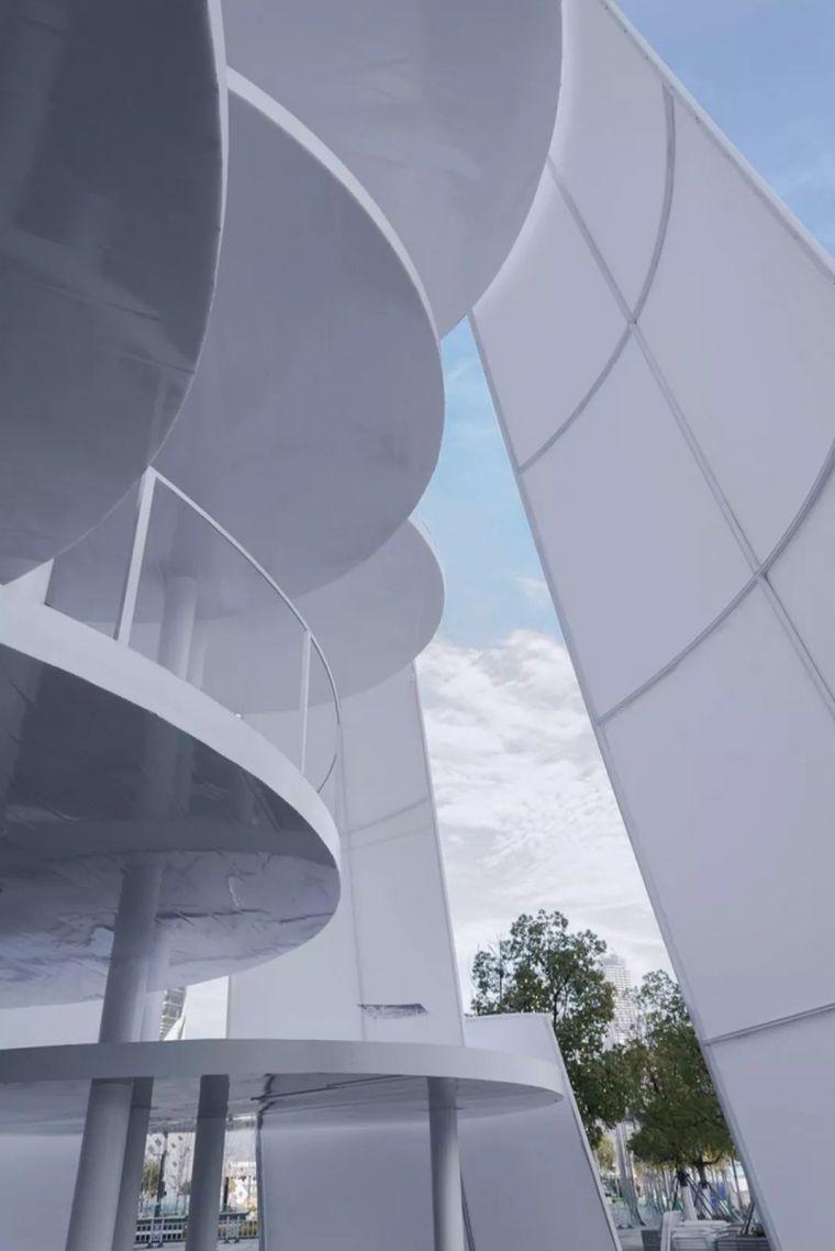 市政景观建筑装置设计:南京时间塔/钢结构_5