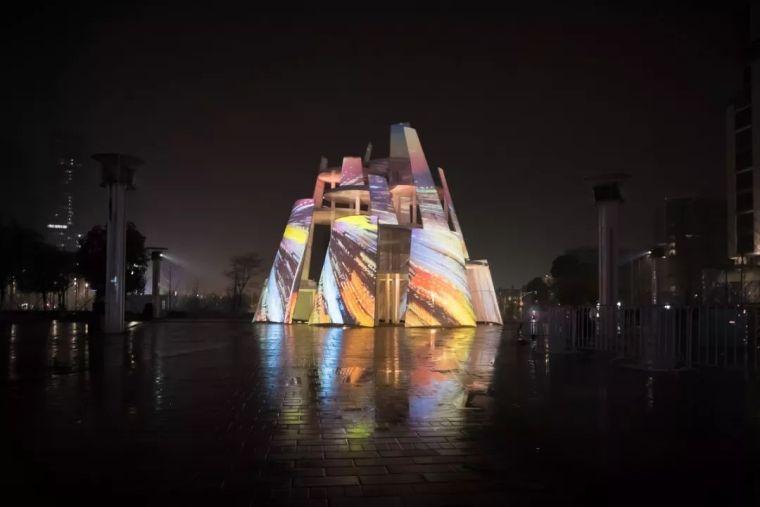市政景观建筑装置设计:南京时间塔/钢结构_7