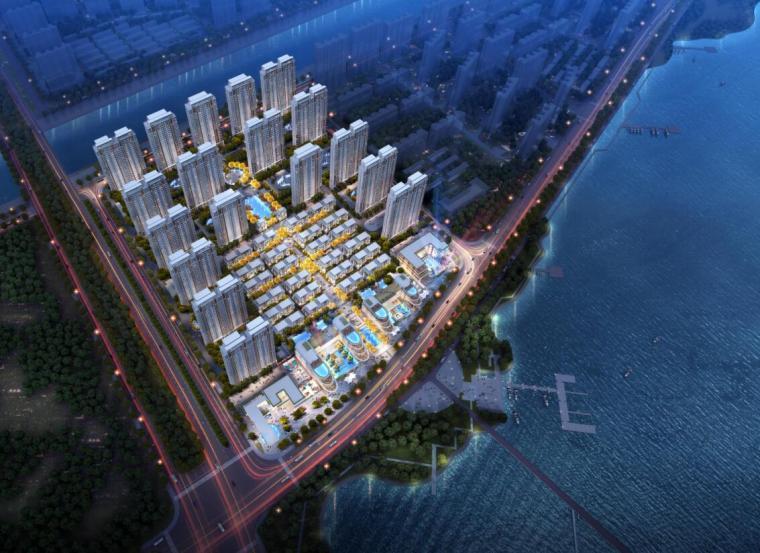 [江苏]现代风格海景度假高层住宅建筑方案