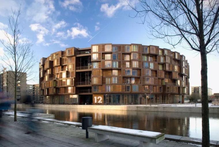 圆柱体的平等性,哥本哈根大学宿舍Tietgen_1