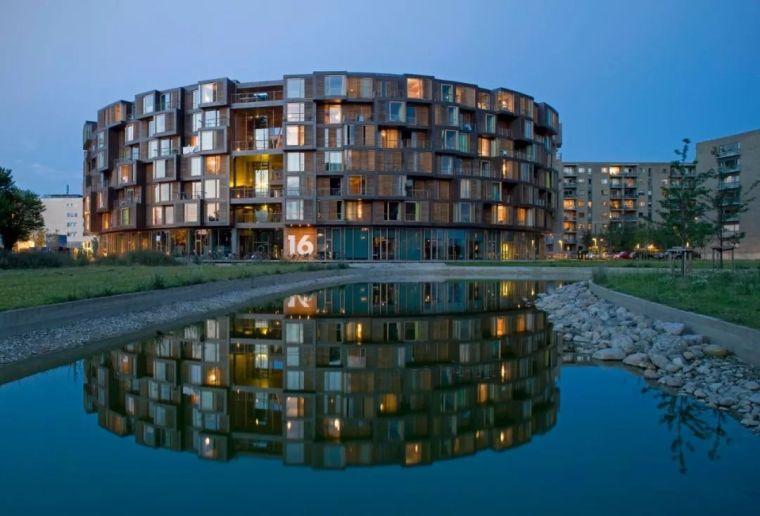 圆柱体的平等性,哥本哈根大学宿舍Tietgen_2