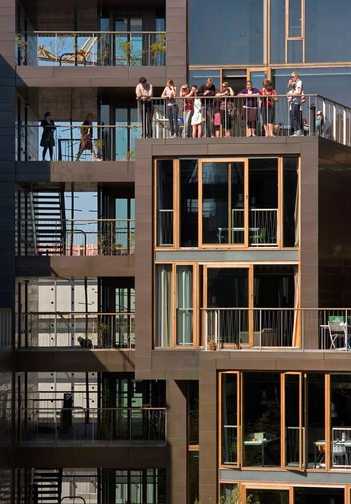 圆柱体的平等性,哥本哈根大学宿舍Tietgen_6