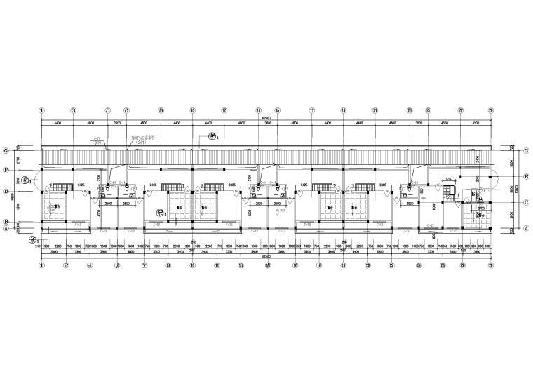 [广州]新象花园_A1幢七层住宅楼建筑方案图-阁楼平面图