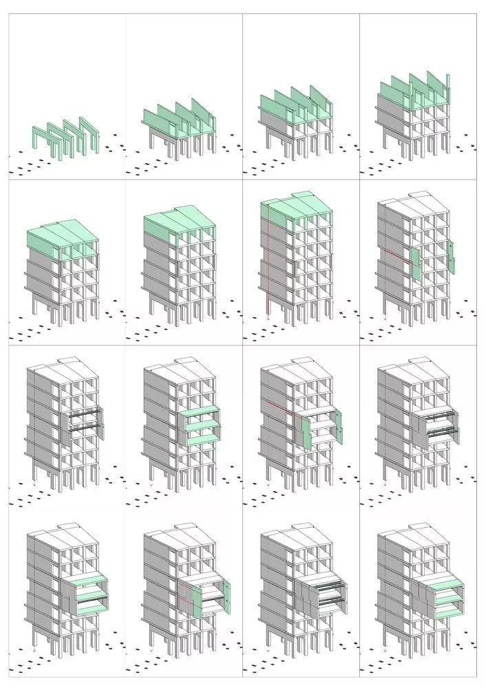 圆柱体的平等性,哥本哈根大学宿舍Tietgen_16