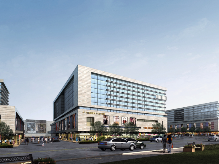 三榆国际商贸综合城修建性规划设计文本-效果图2