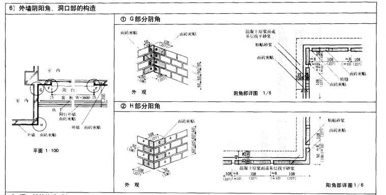建筑细部详图参考