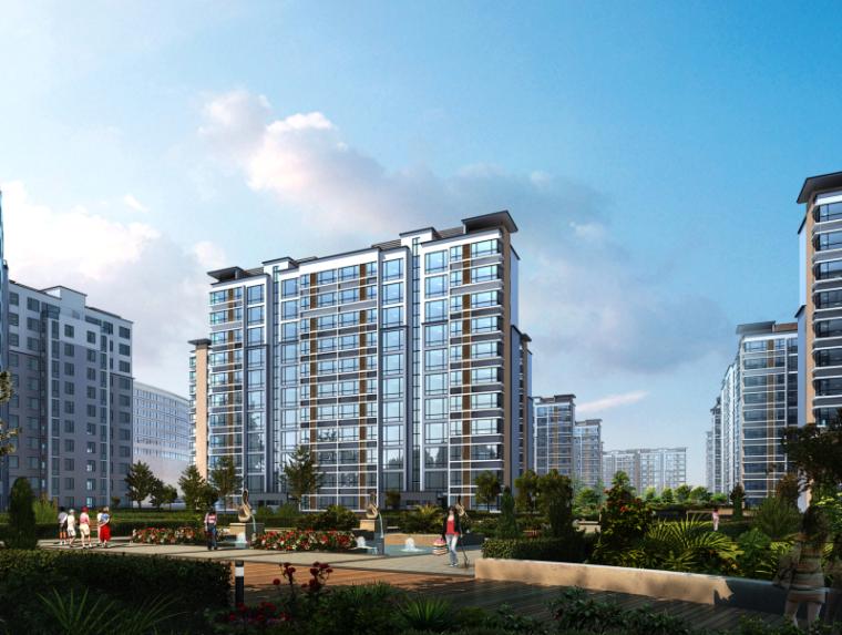 三榆国际商贸综合城修建性规划设计文本-效果图3
