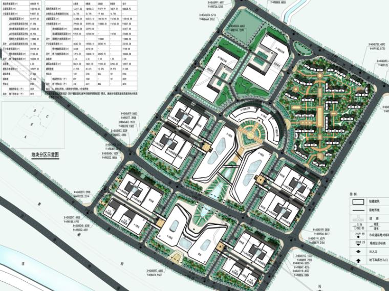 三榆国际商贸综合城修建性规划设计文本-总平面图