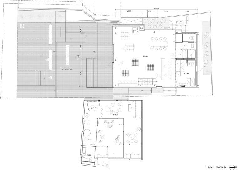 韩国BlueBottle咖啡三清洞店-013-blue-bottle-coffee-samcheongdong-cafe-by-schemata-architects