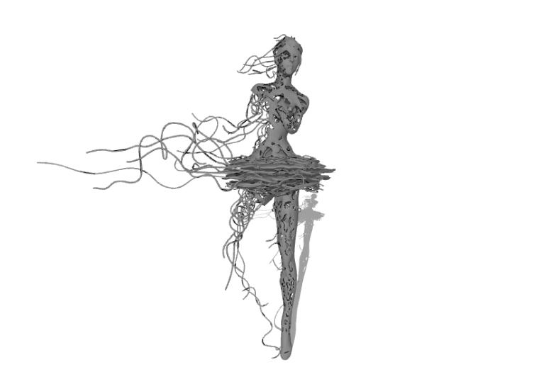 抽象雕塑(2)