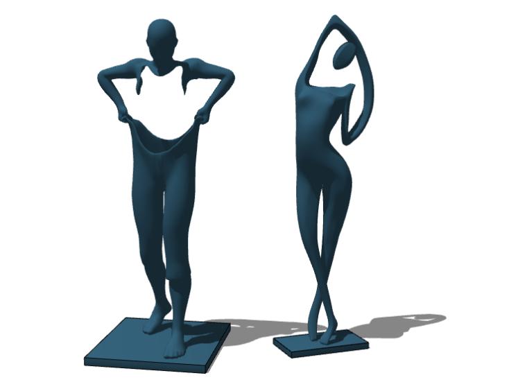 抽象雕塑(3)