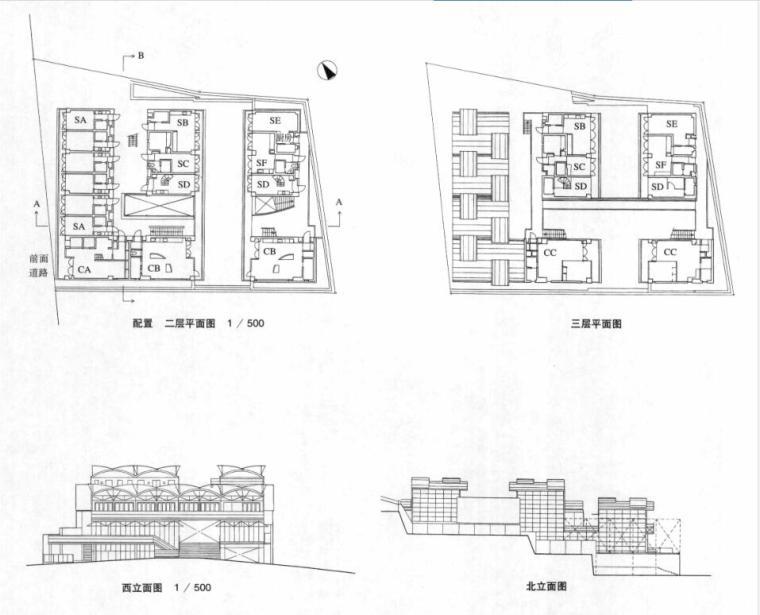 国外建筑设计详图图集-集合住宅 (5)