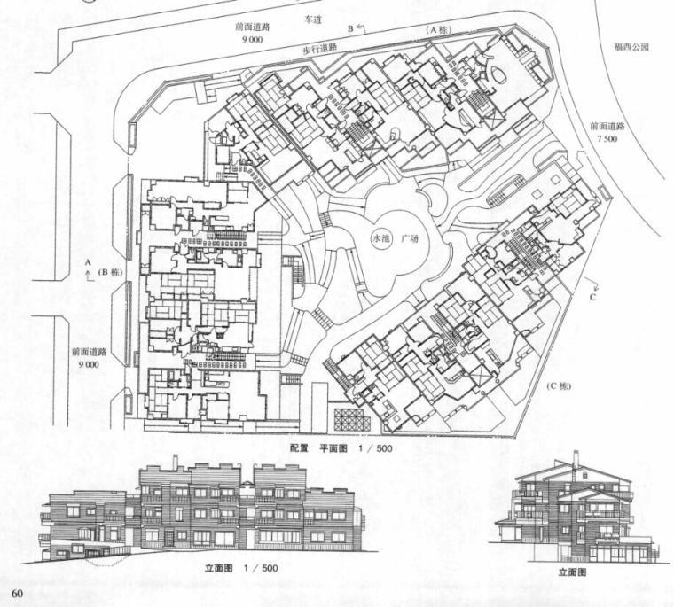 国外建筑设计详图图集-集合住宅 (3)
