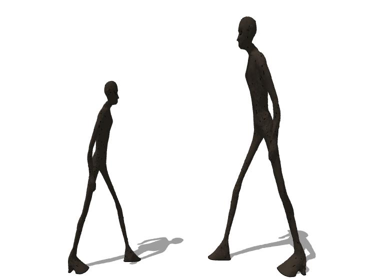抽象雕塑(4)