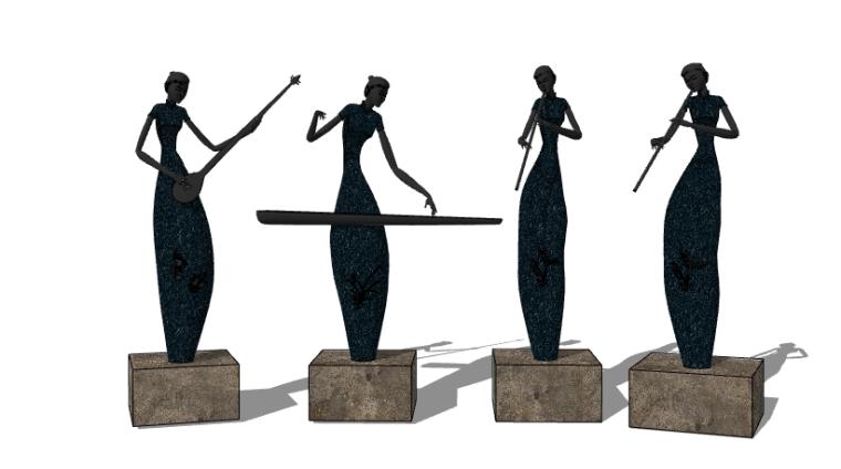 抽象雕塑(9)