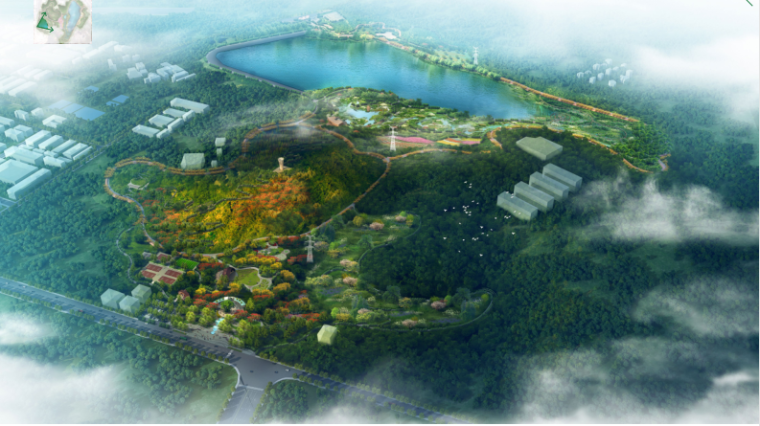 [深圳]宝安区五指耙水库环湖环境提升工程