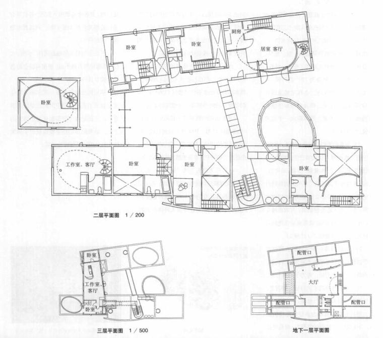 国外建筑设计详图图集-集合住宅 (6)