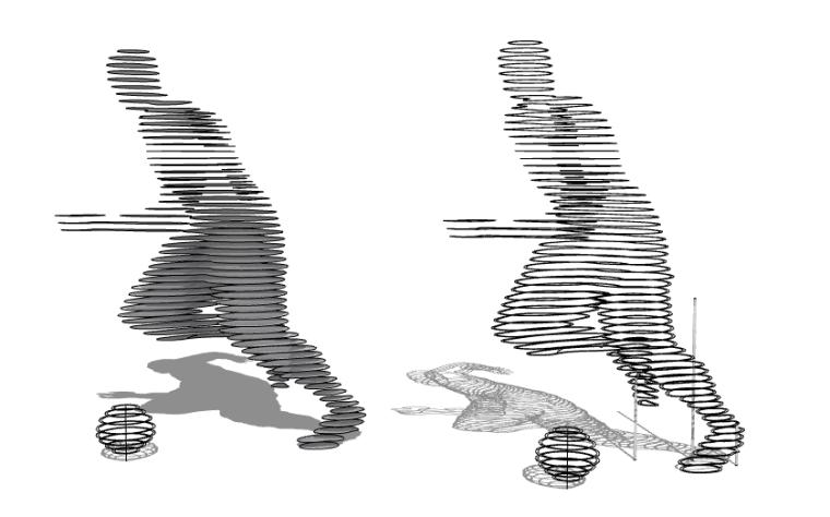 抽象雕塑(10)