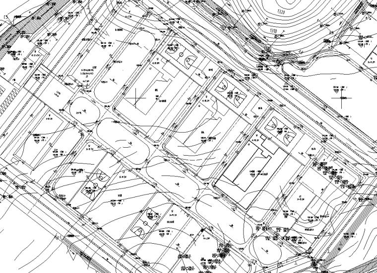 场平土石方、挡土墙及边坡支护工程图纸