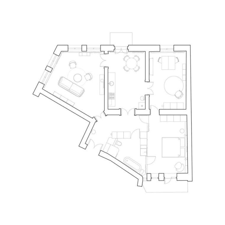 现代复古风温馨的住宅-d31a40c165afd86837abf0f196864fa1