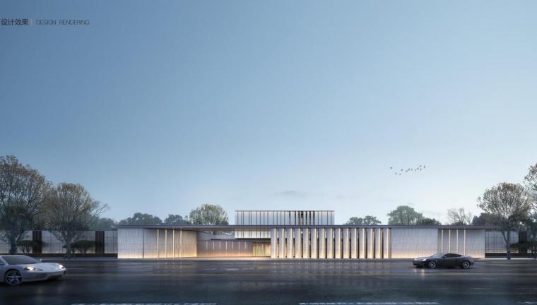 [山东]现代+中式风格示范区建筑方案设计