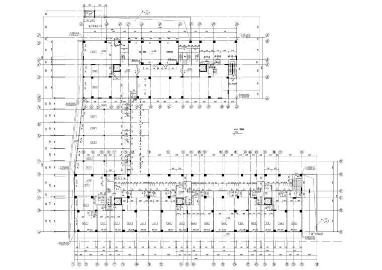B栋1层平面图
