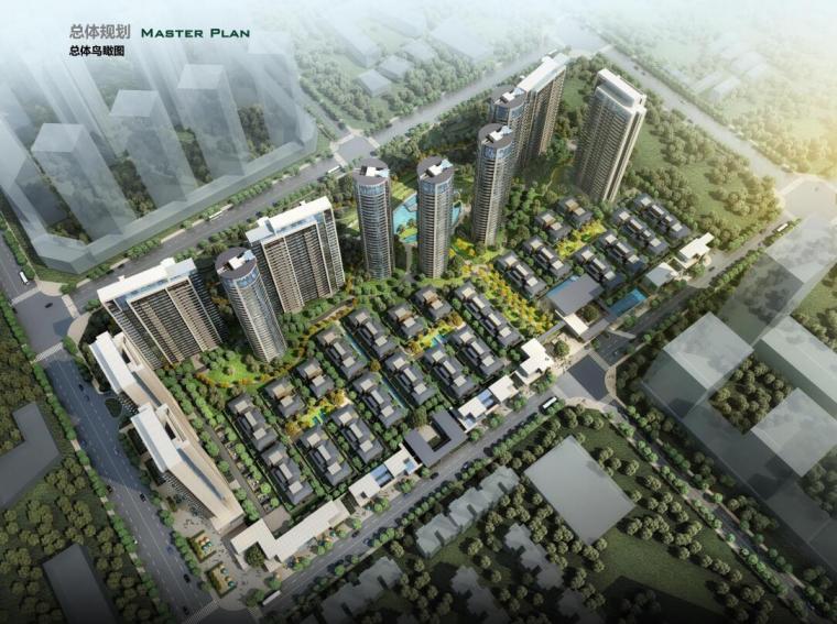 [四川]现代风高层+新中式别墅建筑方案