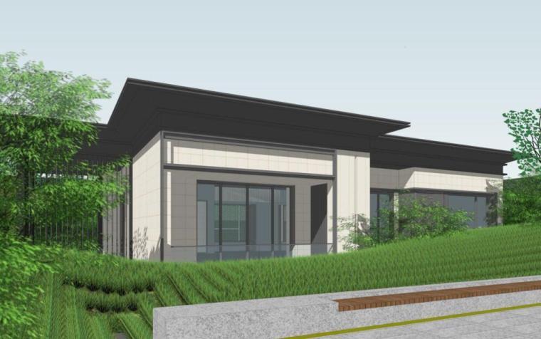 [四川]现代中式风格示范区建筑方案设计