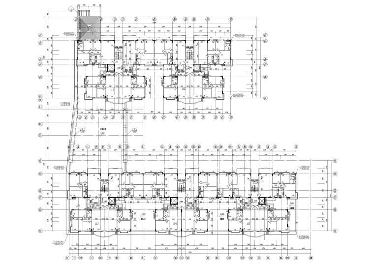 B栋2层平面图