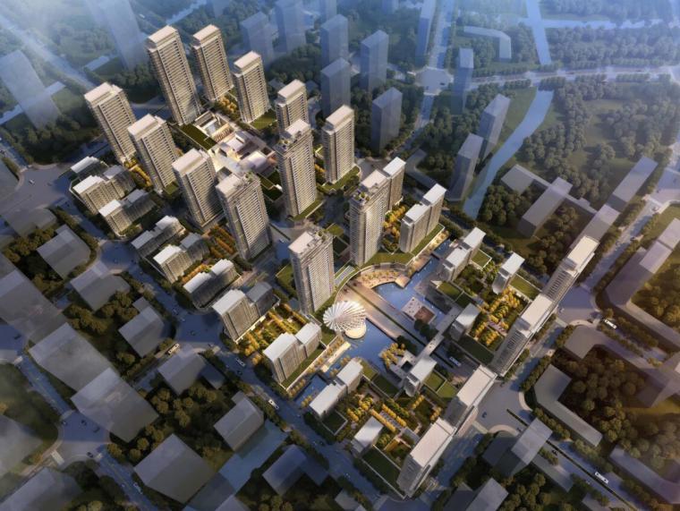 [山东]济南现代风格高层住宅建筑方案文本