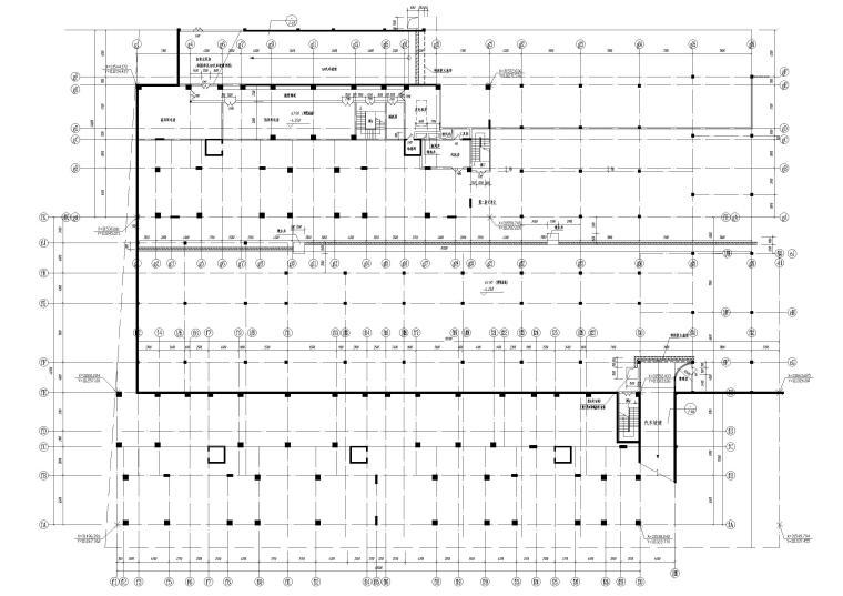B栋地下1层平面图