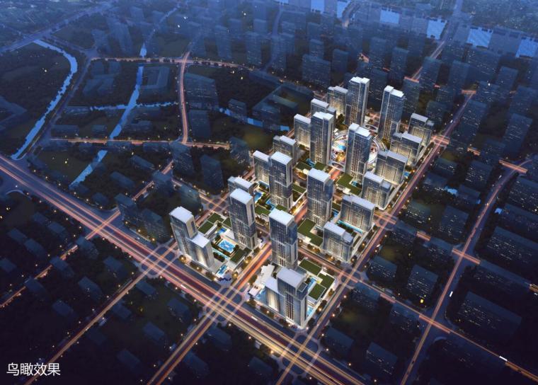 [山东]体验示范区及首开区规划方案设计-01 鸟瞰图