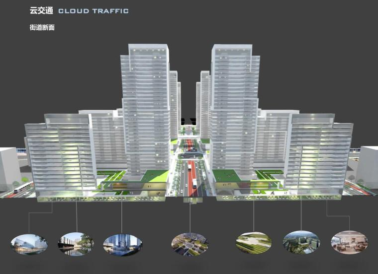 [山东]体验示范区及首开区规划方案设计-街道断面