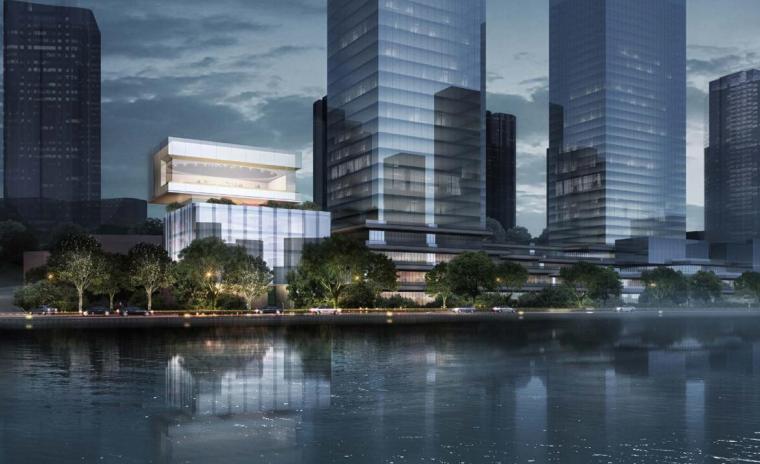 [重庆]现代风国际新城豪华示范区建筑方案