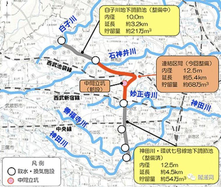 日本七号线地下广域调节池采用13m级盾构机_1