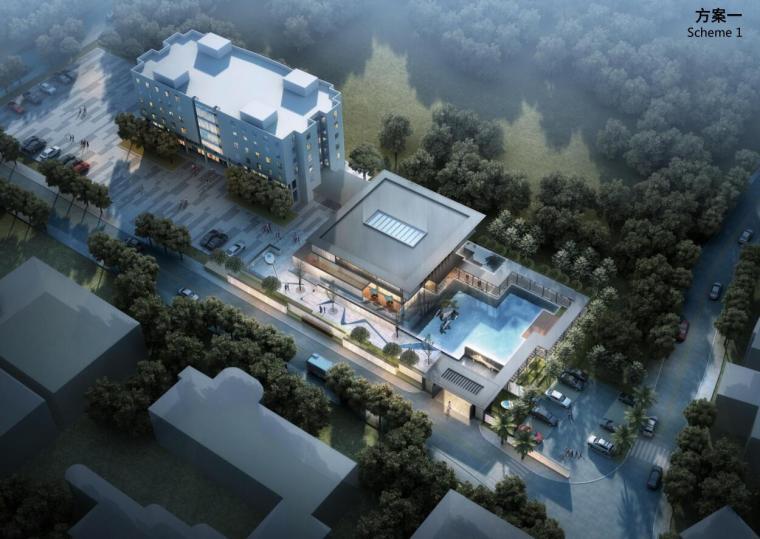 [云南]华侨城现代营销中心建筑概念设计