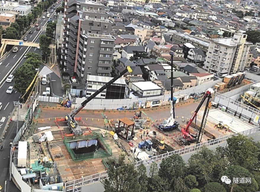 日本七号线地下广域调节池采用13m级盾构机_8