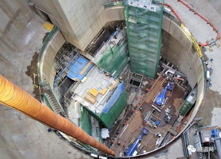 日本七号线地下广域调节池采用13m级盾构机_9