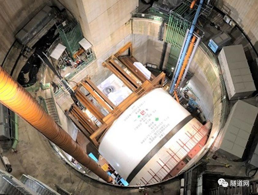 日本七号线地下广域调节池采用13m级盾构机_10
