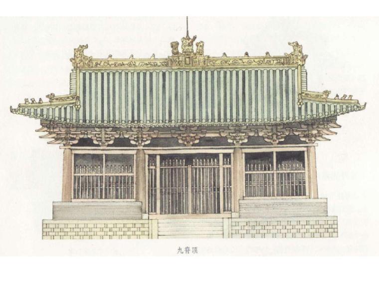 中国古建筑屋顶简析1