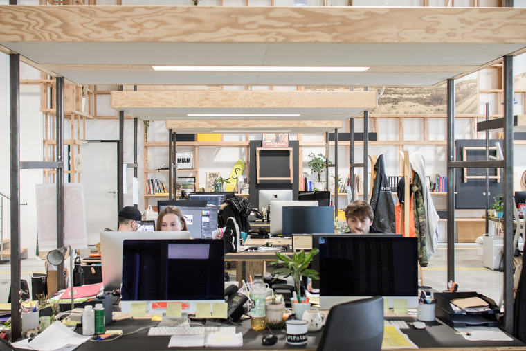 法国CôteOuest办公空间-013-cote-ouest-new-office-by-collective-parenthese