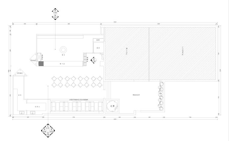 猫舍咖啡店室内设计工程全套施工图(JPG)