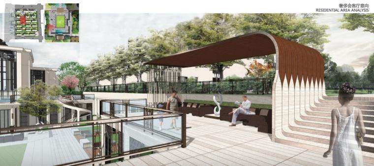 [湖南]新古典风格滨江正荣府住宅景观方案-奢侈会客厅意向