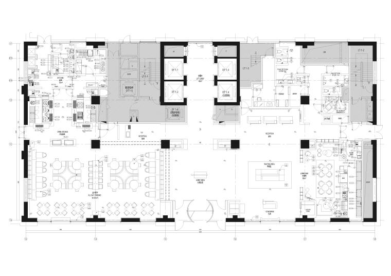 [天津]万怡酒店室内装饰设计施工图+效果图