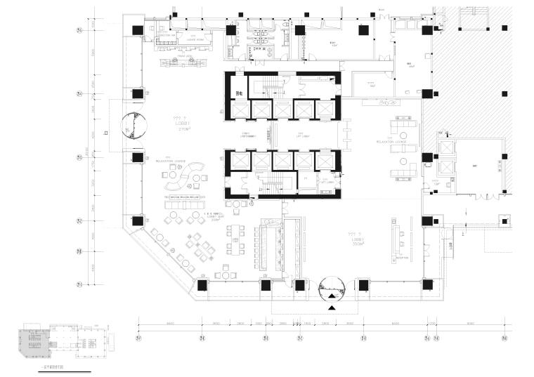 [成都]维尔酒店装饰设计全套施工图+效果图