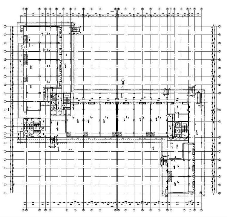 长沙万科城36~37栋公寓户型设计图